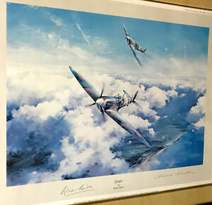 Spitfire by Robert Taylor- WW2 Framed Print