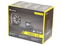 Hydro Series H80i V2 120 mm High Performance All-In-One Liquid CPU Cooler BRAND NEW