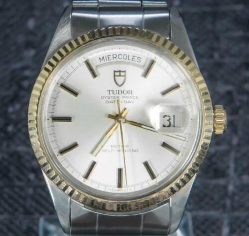 Tudor Oyster Prince Date Day 36 MM Gold/Steel Rotor Self-winding Rare Find 70170 - watch picture 1