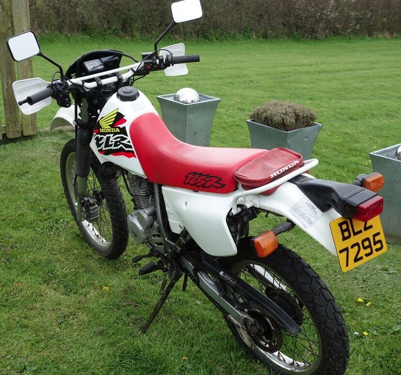 honda xlr 125 in exceptional condition for year in. Black Bedroom Furniture Sets. Home Design Ideas