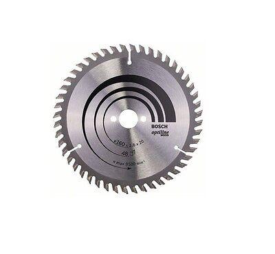 Bosch Kreissägeblatt Optiline Wood 160x20 Z48 2608640732