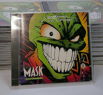 The Mask 1994 CD Rom Video Game dark horse comics video game PC retro vintage