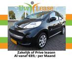 Lease vanaf €75,- P/M - Peugeot 107 1.0 active 3drs Audio