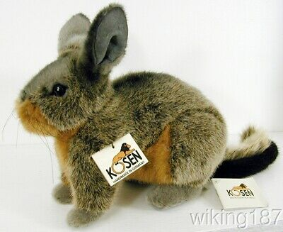 KOSEN Made in Germany NEW South American Gray & Brown Viscacha Plush (American Made Toys)