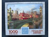 Jigsaw Postcard from London