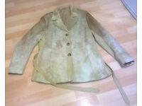 Vintage 60/70s ladies goat skin jacket size 14