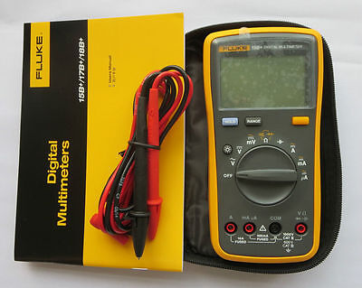 Fluke 15b F15b Digital Multimeter Meter New Led Backlight Usa Seller