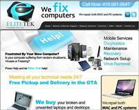CASH FOR YOUR UNWANTED & BROKEN MACBOOKS AND PC NOTEBOOK