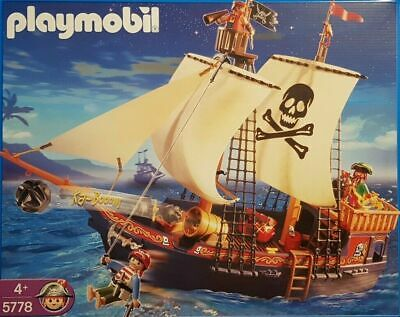 Playmobil 5778 Caribe Barco Pirata Nuevo / Emb.orig Kampfschiff Barco Piratas