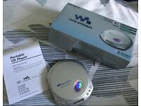 Silver Sony Walkman ESP Max D-351
