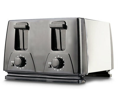 Mark NEW Brentwood TS-284 4-Slice Toaster, Black