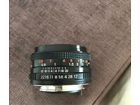 Phenix MC f=50mm 1:1.7 pentax k mount camera lens
