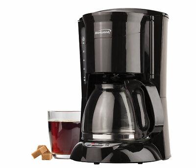 - BRAND NEW Brentwood TS-218B 12 Cup Digital Coffee Maker, Black