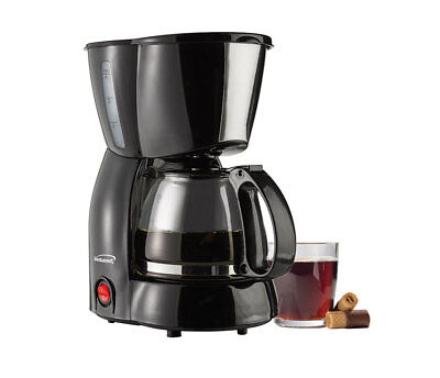 BRAND NEW Brentwood Appliances TS-213BK Coffee Maker 4-Cup - Black