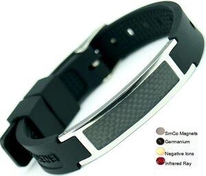 Anion-Magnetic-Energy-Germanium-Power-Bracelet-Health-4in1-Bio-Armband-BAND