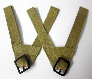 M1-M2-M1C-Airborne-Helmet-Liner-A-Yokes-Suspension-chin-straps-cup-WW2-US-Army