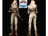 1//6 Tactical Camouflage Combat suit Set A w// Glove Hands For PHICEN kumik ❶USA❶