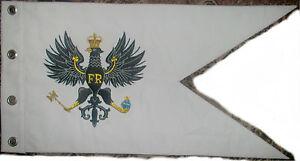 German Eagle Prussian Army War Battle Cavalry Hussar Uhlan Guidon Pennant Flag X