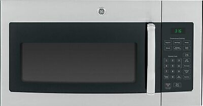 GE 1.6 Cu. Ft. 1000W Over-the-Range Microwave Oven in Stainless Steel Over-the-range Microwave Oven