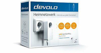 Devolo LAN Internet Komfort Plus - Heimnetzwerk aus jeder Steckdose dLAN Adapter