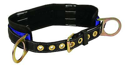 Falltech 7055xl Padded Positioning Belt With Two D-rings Blackblue X-large