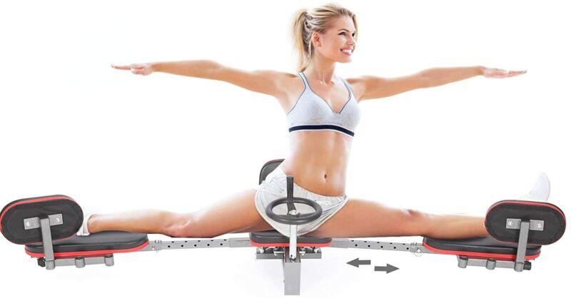 Leg Stretcher Machine Heavy Duty Stretching Women Training Machine Home Fitness