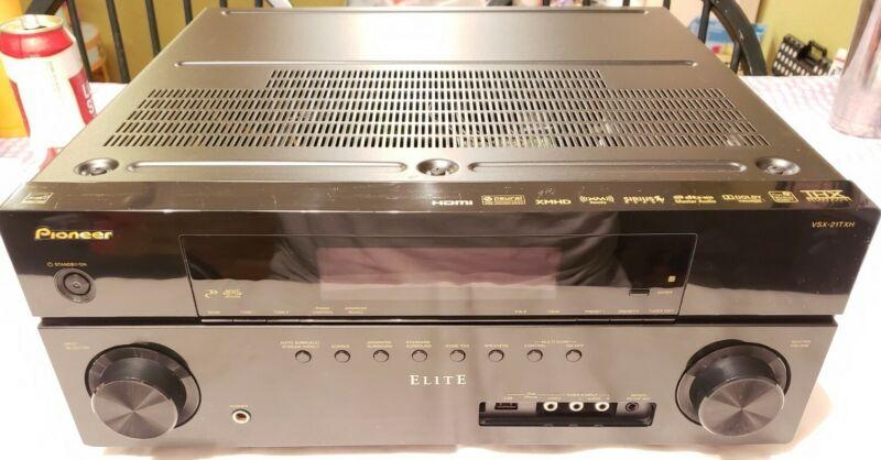 Pioneer Elite VSX 21TXH 7.1 Channel 110 Watt Receiver Good Cond. *No Remote*