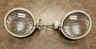 2 Tract-o-lite Head Light For Ford Allis Chalmers Farmall Massey Ferguson 12 V