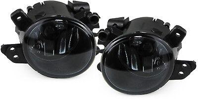 Klarglas Nebelscheinwerfer schwarz für Mercedes M Klasse W164 S W221 Smart 451
