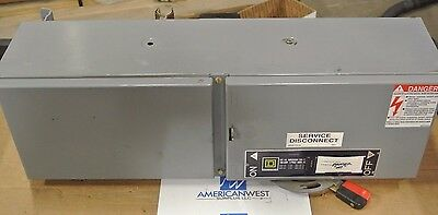 Square D Qmb363hw 3ph 600v 100a Panelboard Disconnect Switch - Recondition