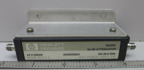 Agilent/HP 33326K 90 dB 26 GHz Variable Attenuator