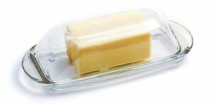 NORPRO-283-Glass-Covered-Butter-Dish-Also-Great-For-Cream-Cheese