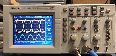 Tektronix Tds2022 Digital Oscilloscope 200mhz 2 Gss
