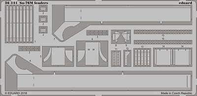 Eduard Accessories 36344 - 1:35 Su-76M Fenders For Tamiya - Ätzsatz - Neu