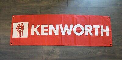 New Kenworth Trucking Banner Sign 1.5 X 5 Flag Semi Trucks Trucker Usa Shipper