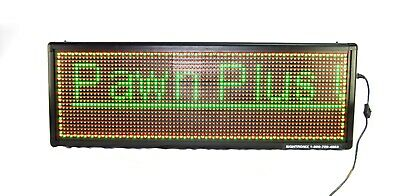 Signtronix Led-40-3 Sx Interior Programmable Sign With Wifi - Pre-owned