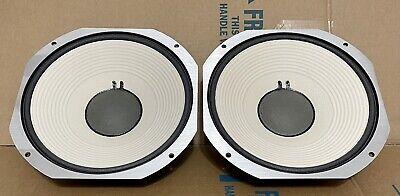 2 JBL LE14H Loudspeakers ORIGINAL - MINT - TESTED & NEW EDGE FOAM L250 L220 L222