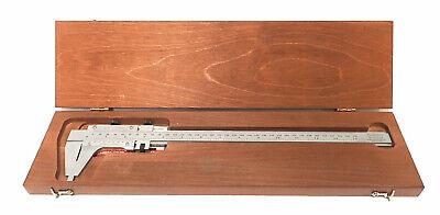 Starrett 123-12 Master Vernier Caliper Hardened And Stabilized Master Bar