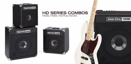 Hartke HD series of bass amps @ Music Park