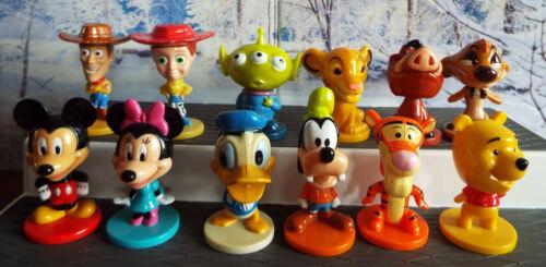 DISNEY MINI BOBBLEHEAD Figures 2003 Walt Disney World Kellogg