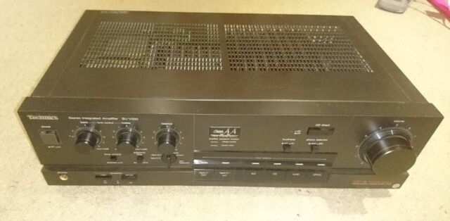 Technics SU-V550 HiFi Stereo Integrated Amplifier, Effortless Power, Phono Input