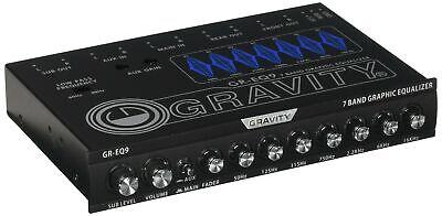 Clarion Eqs755 Ecualizador Grafico De Audio Para Automovil De 7 Bandas Con F...