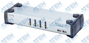 ATEN 4-Port MasterView USB-DVI KVM Switch (CS1764C-A1-A)