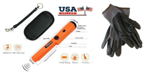 Metal Detector Pinpointer with Detecting Gloves