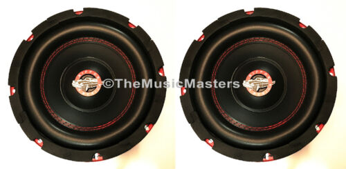 Pair 8 inch Home Stereo Sound Studio WOOFER Subwoofer Speaker Bass Driver 8 Ohm