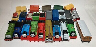 Huge Lot Thomas The Train & Friends Trackmaster Engines And Cars Working Engines