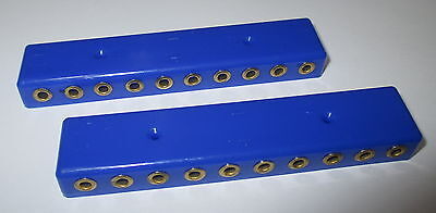 Verteilerleiste,  20 Anschlüße für Stecker (2,6mm) 2 Stück NEU