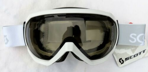 $120 Scott Mens Notice OTG Over The Glasses Gloss White Ski Goggles NL-45 Lens