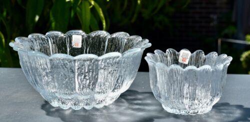 Two Vintage HOLMEGAARD Glass