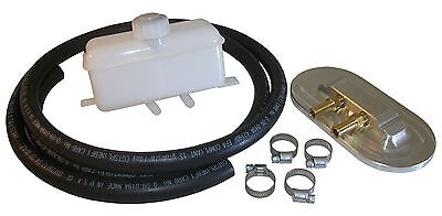 1955-59 Chevy & GMC Master Cylinder Remote Fill Cap and Reservoir Kit